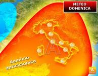 Meteo: DOMENICA, Alta Pressione Insidiata dai Temporali. Ecco le Aree Coinvolte