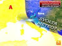 Meteo: Domenica 23 Settembre, equinozio di Autunno con svolta del tempo? Scopriamo cosa può accadere