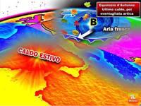 Meteo Italia: oggi ultimo caldo prima della sventolata, ecco le previsioni