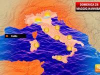 Dominio di HANNIBAL: Domenica estiva su tutta l'ITALIA [VIDEO]