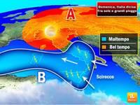 Meteo: DOMENICA, Italia divisa tra sole caldo e grandi piogge. Ecco i dettagli per le prossime ore