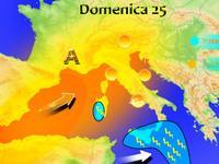 Meteo ITALIA, Domenica di SOLE al Centro-Nord, piogge e TEMPORALI su SICILIA e SARDEGNA [VIDEO]