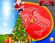 Secondo il modello europeo, l'alta pressione potrebbe essere protagonista delle feste di Natale