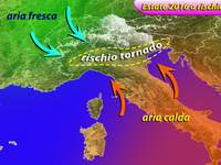 METEO: Estate con TORNADO in Italia? Possibile