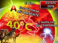 Meteo: ESTATE 2019, EL NINO influenza le VACANZE italiane. Ecco il mese più ROVENTE e quello con TEMPORALI