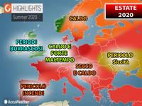 Meteo: ESTATE 2020, CALDO ROVENTE confermato da CENTRO EUROPEO e ACCUWEATHER. Forse CORONAVIRUS ANNIENTATO...