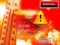 Meteo: ESTATE 2021, GRAN CALDO già a GIUGNO, poi a LUGLIO CLIMA ancora più ROVENTE. Le MAPPE lo confermano