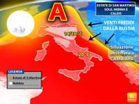Meteo: ESTATE di San Martino tra sole, nebbie e caldo. Ma finirà prima del previsto