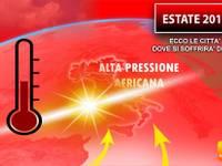 Meteo: ESTATE 2019, dominerà l'ALTA PRESSIONE AFRICANA, ecco le CITTA' DOVE si soffrirà di più il CALDO