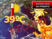 Meteo: ESTATE 2019 TUTTA a 39/40°C, una STAGIONE da PRIMATO. Temiamo il PEGGIO per GIUGNO, LUGLIO e AGOSTO
