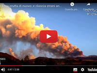 Meteo Cronaca DIRETTA: ETNA, Forte ERUZIONE con BOATI FORTISSIMI e COLONNA di FUMO fino a 9000 metri. Il VIDEO