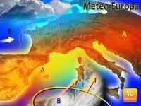 Meteo / EUROPA, prime INCURSIONI AUTUNNALI, ma RESISTE l'anticiclone su MOLTI STATI