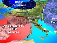 METEO - i temporali di Fast-Storm investono l'Italia [VIDEO]