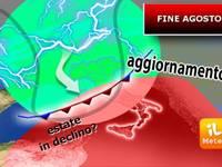 Meteo: Fine Agosto con BREAK TEMPORALESCO ed ESTATE in DECLINO. Ecco gli Ultimi Aggiornamenti