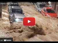 Meteo Cronaca DIRETTA: FRANCIA, drammatiche INONDAZIONI affondano la città di BEAUVAIS. Il VIDEO