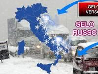 Meteo: GELO RUSSO SIBERIANO in rotta verso l'Italia a FINE FEBBRAIO: ecco le REGIONI COLPITE