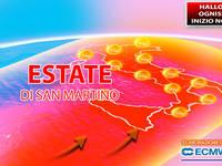 Meteo: HALLOWEEN, OGNISSANTI e INIZIO NOVEMBRE, l'Estate di SAN MARTINO arriva in ANTICIPO. Le CONSEGUENZE
