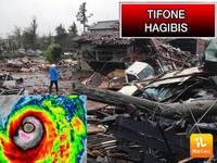 Meteo: il TIFONE HAGIBIS Flagella il Giappone e Lascia una Scia di Morte e Distruzione. Ecco la SITUAZIONE