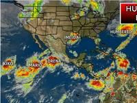 Meteo: HUMBERTO e LORENA, due Uragani Potenzialmente Distruttivi. Ecco la Traiettoria Aggiornata