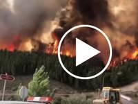 Meteo Cronaca Video: il PORTOGALLO brucia, Incendi forse di Origine Dolosa. Ecco le Immagini Shock