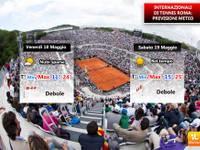 18-19 maggio Internazionali di Tennis a Roma