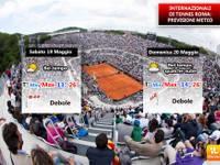 19 maggio Semifinali degli Internazionali di Tennis a Roma