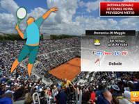 20 Maggio Finali degli Internazionali di Tennis a Roma