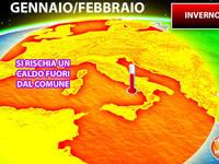 Meteo: INVERNO 2020, Gennaio e Febbraio ANOMALI secondo il Centro Europeo. Ecco perché