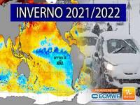 Meteo: INVERNO 2021/2022, è Ufficiale, arriva la Nina. E le Conseguenze sull'Italia potrebbero essere Importanti