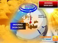 Meteo: INVERNO 2020/2021 CALDO e SENZA NEVE! Ecco perché il VORTICE POLARE sarà DECISIVO