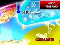 Meteo: inizio di FEBBRAIO con Irruzione POLARE sull'Italia. Ecco l'Ultima Inattesa IPOTESI del MODELLO AMERICANO