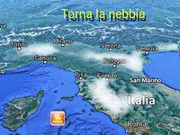 METEO:  incubo NEBBIA da Dicembre, ecco le MAPPE dettagliate con le previsioni meteo visibilità