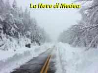 METEO ~ Neve, neve e ancora neve! Alpi e Appennini ancora imbiancati col ciclone MEDEA