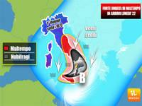 METEO: da Lunedì 22 SCIABOLATA gelida dai Balcani, in arrivo FREDDO e mini CICLONE