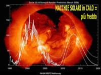 METEO: INVERNO di NEVE E bianco Natale confermato dalle MACCHIE SOLARI
