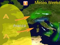 Meteo weekend: ultime piogge e neve al Sud, GELO notturno al Nord, sole altrove [VIDEO]
