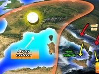Meteo: ITALIA spazzata dai VENTI forti fino a Mercoledì. Ecco le regioni più a RISCHIO, mare MOSSO!