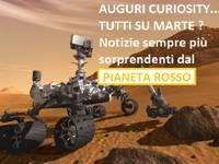 La sonda Curiosity a spasso per MARTE
