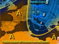 Previsioni meteo: DICEMBRE con GELO e NEVE sempre più probabili