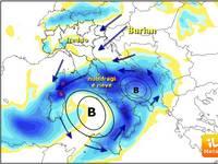 METEO: settimana di CICLONI freddi sull'Italia, 21 Marzo con NEVE FORTE in Campania, fino a Napoli?