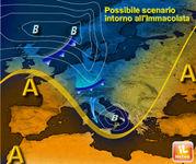 PREVISIONI METEO: GELO e NEVE in Italia per il Ponte dell'Immacolata?