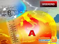 Meteo: WEEKEND, CAPITOMBOLO dell'ANTICICLONE AFRICANO? Ci sono NOVITA' per Sabato 26 e Domenica 27