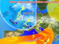 Meteo Europa: ALLERTA MALTEMPO sul Vecchio Continente!