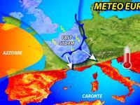 Meteo EUROPA ~ caldo ROVENTE in SPAGNA, piogge e TEMPORALI su molti STATI