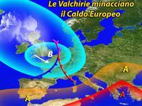 Meteo » ciclone VALCHIRIE sull'EUROPA, intenso maltempo su MOLTI stati. Alluvione in GERMANIA!