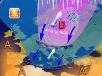 Meteo: EUROPA In pieno INVERNO, NEVE a BERLINO e COPENAGHEN. In arrivo anche in Italia ?