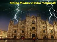 Meteo Milano - weekend TEMPORALESCO, dopo il caldo dell'anticiclone SCIPIONE. Rischio GRANDINE!