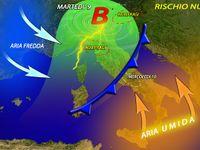 Meteo ITALIA | maltempo in ARRIVO, oltre 100 mm di PIOGGIA sull'ALTA TOSCANA. Le PREVISIONI