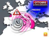 Meteo: fine OTTOBRE e PONTE DI OGNISSANTI, tra Blitz Artici e Intenso Maltempo. Le Previsioni