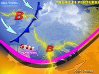 METEO ~ Attacco di PERTURBAZIONI sull'Italia, Neve, Pioggia, Vento per 7 giorni [VIDEO]